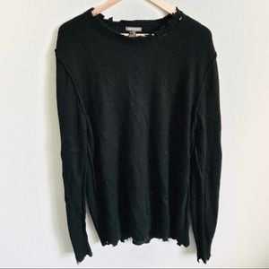 Divided H&M Distressed Sweater XL